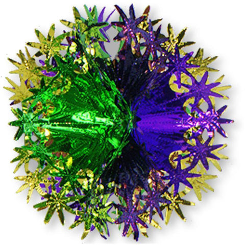 "Mardi Gras Star Ball 12"" (Each)"
