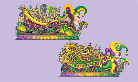 "Mardi Gras Float Props 65"" and 67"" (Pack)"