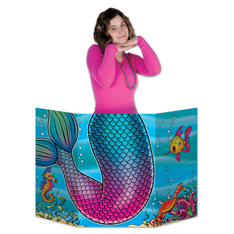 "Mermaid Tail Photo Prop 3' 1"" x 25"" (Each)"