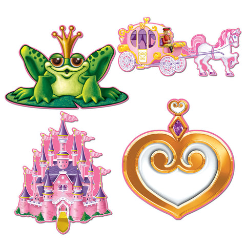 "Princess Cutout 12"" (Each)"