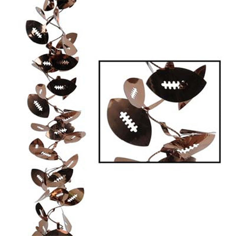 Gleam 'N Flex Football Wire Garland (Each)