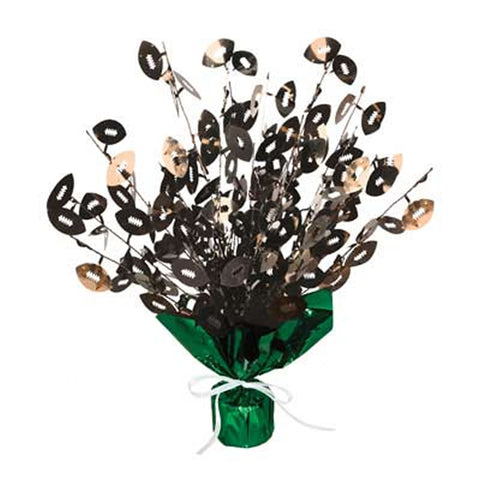 Football Gleam 'N Burst Centerpiece (Each)