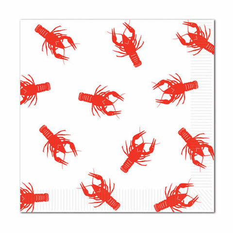 Crawfish Luncheon Napkins - 2 ply (Pack of 16)