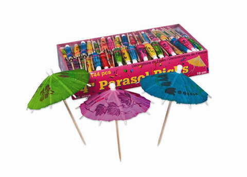 "Party Parasols 4"" (12 Piece Pack)"