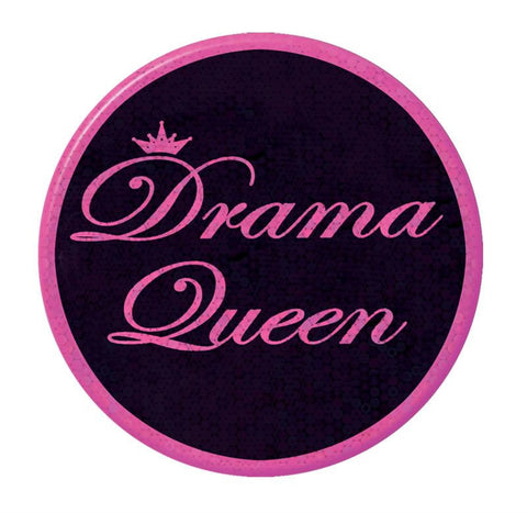 "Drama Queen Button 3.5"" (Each)"