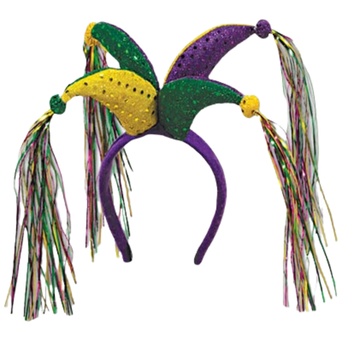 Jester Headband with Tassels (Each)