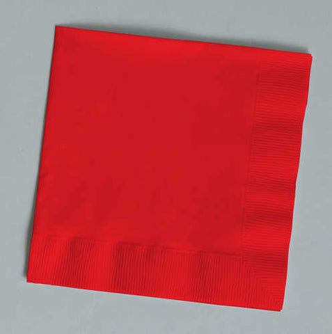 Classic Red  2-Ply Napkin (Pack of 50)