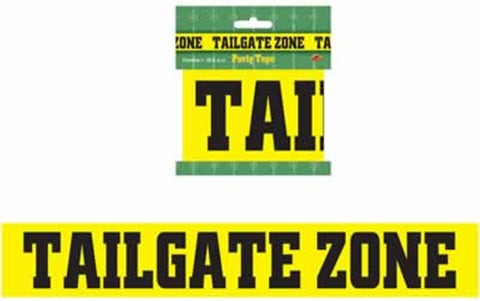 Tailgate Zone Party Tape (Each)