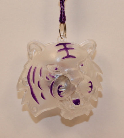 LED Tiger on Purple Necklace