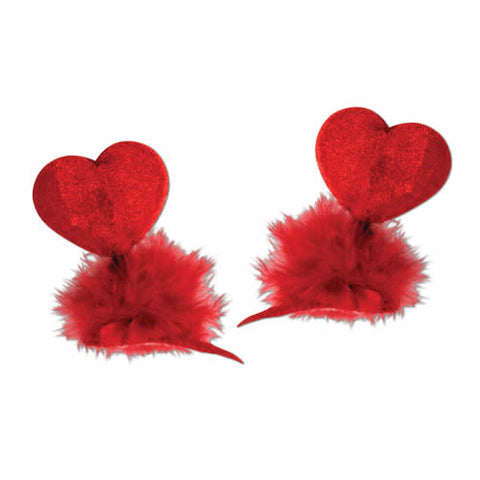 Heart Hair Clips (Each)