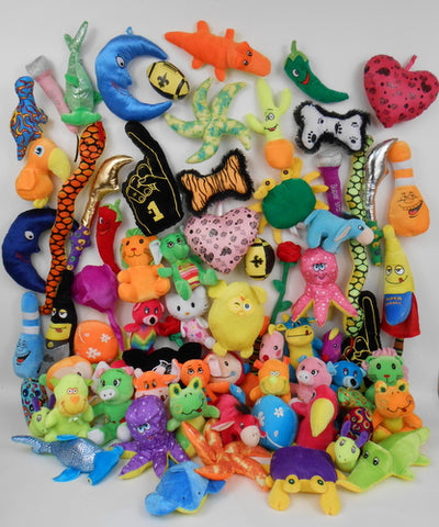 Assorted Plush Bag (Pack of 72)