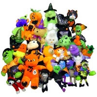 $0.80 Average Halloween Plush Crane Pre-Pack (72 Pieces)