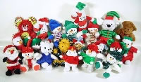 $0.85 Average Christmas Plush Crane Pre-Pack (72 Pieces)