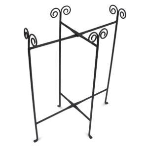 "Iron Floor Stand Oblong Tub 24"" (Each)"