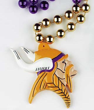 "36"" NFL Licensed Minnesota Vikings Bead (Each)"