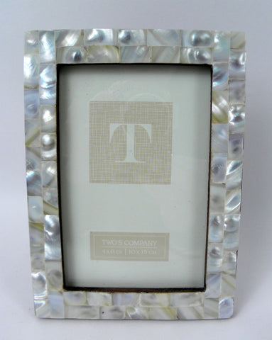 "4"" x 6"" Mother of Pearl Photo Frame - 3 Colors (Each)"