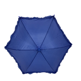 "Royal Blue Umbrella with Ruffle 14.5"" (Each)"