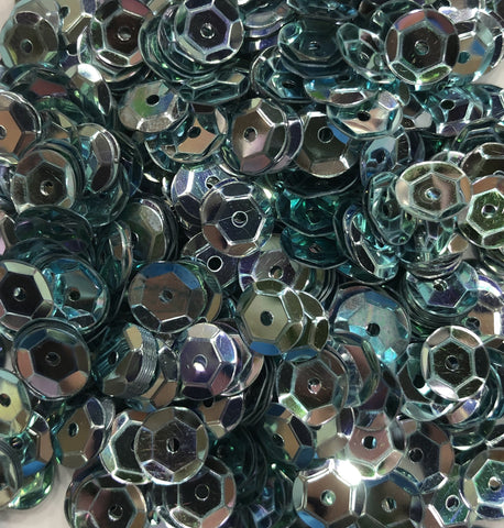 6mm Sequins - Ice Blue (Pack)