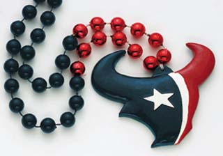 "36"" NFL Licensed Houston Texans Bead (Each)"
