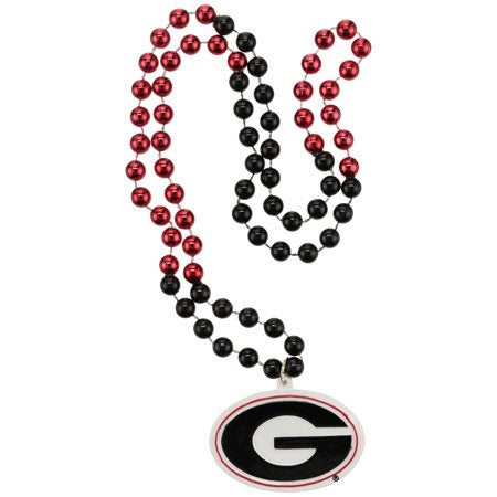"36"" Collegiate Georgia ""G"" Licensed Bead (Each)"