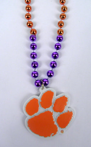 "36"" Collegiate Clemson Licensed Bead (Each)"