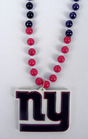 "36"" NFL Licensed New York Giants Bead (Each)"