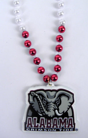 "36"" Collegiate Licensed Alabama (Elephant) Crimson Tide Bead (Each)"
