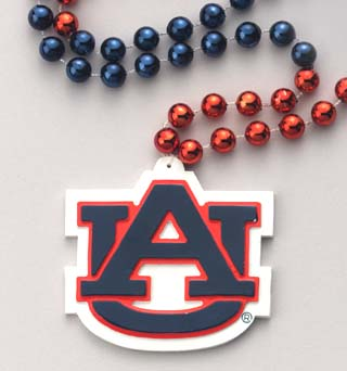 "36"" Collegiate Auburn University Licensed Bead (Each)"