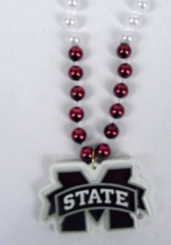 "36"" Collegiate Mississippi State University Licensed Bead (Each)"