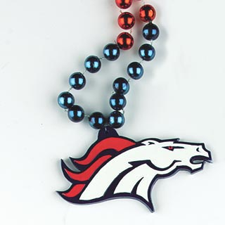 "36"" NFL Licensed Denver Broncos Bead (Each)"
