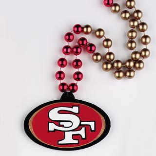 "36"" NFL Licensed San Francisco 49ers Bead (Each)"