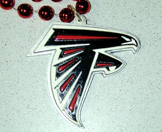 "36"" NFL Licensed Atlanta Falcons Bead (Each)"