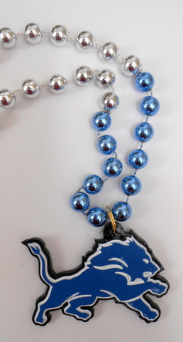 "36"" NFL Licensed Detroit Lions Bead (Each)"