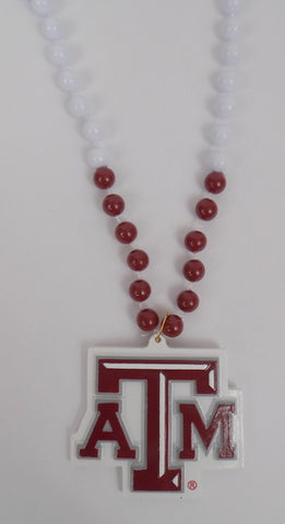 "36"" Collegiate Texas A & M Licensed Bead (Each)"