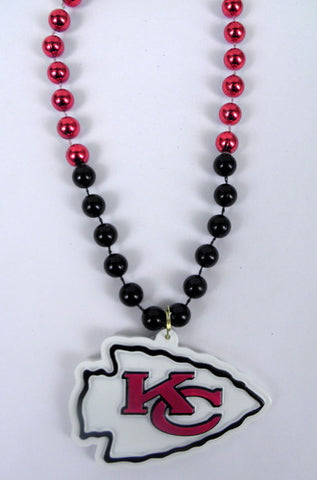 "36"" NFL Licensed Kansas City Chiefs Bead (Each)"