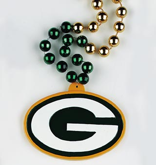 "36"" NFL Licensed Green Bay Packers Bead (Each)"