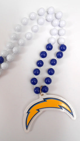 "36"" NFL Licensed San Diego Chargers Bead (Each)"