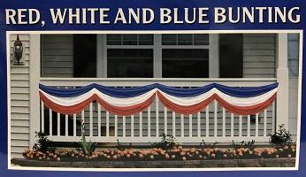 Red, White, and Blue Bunting (Each)