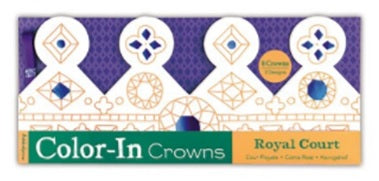 Royal Court Color In Crowns (Pack of 8)
