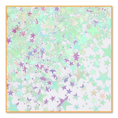 Iridescent Stars Confetti - 0.5oz (Each)