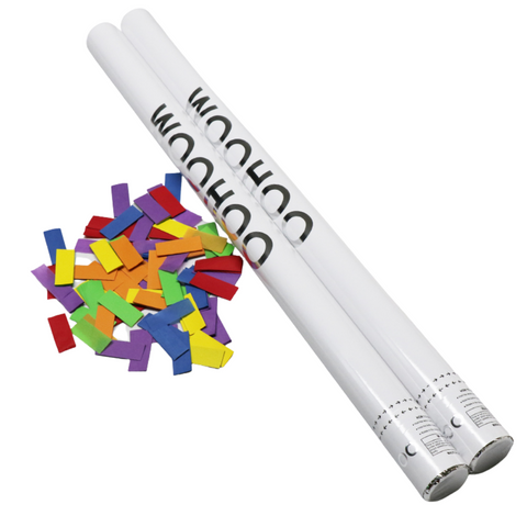 "Rainbow Paper Confetti Cannon 31"" (Each)"