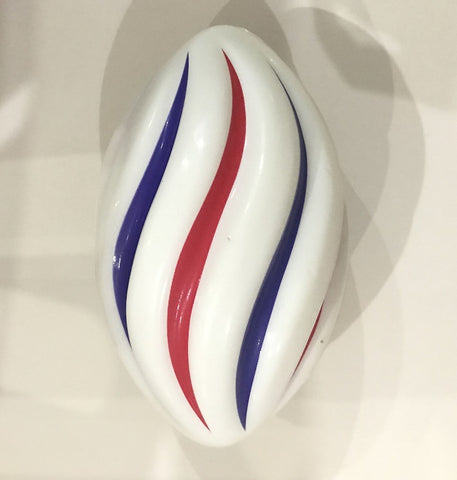"7""  Red, White and Blue Spiral Footballs (Sack of 40)"