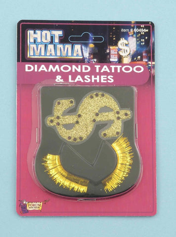 Hot Mama Diamond Tattoo and Lashes (Each)