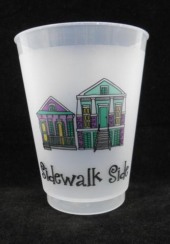 16oz Sidewalk Side Frost Flex Cup (Sleeve of 25)