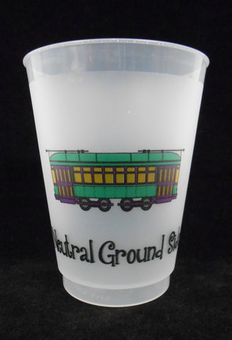 16oz Neutral Ground Side Frost Flex Cup (Sleeve - 25 Cups)