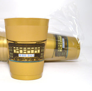 16oz Who Dat Street Car Frost Flex Cup (Sleeve of 25)
