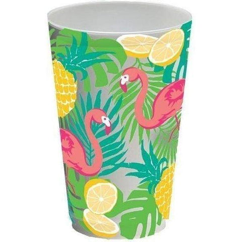 Summer Flamingo 20oz Frost Flex Cups (20 per sleeve)
