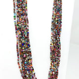 "27"" Necklace Multicolor Glass Bead Necklace (Gross - 144 Pieces)"