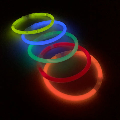 "8"" Glow Bracelet - 5 Assorted Colors (Each)"