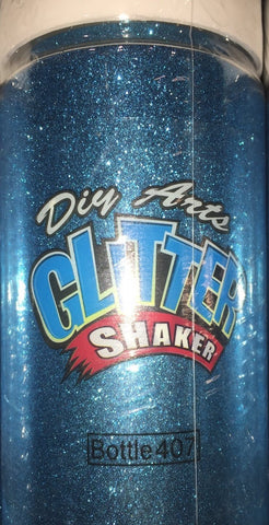 8oz Glitter - Sky Blue (Each)